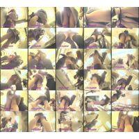 逆さ撮りパンチラ「マニア集団・秘蔵の映像集/No14-3」