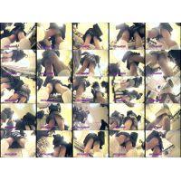 逆さ撮りパンチラ「マニア集団・秘蔵の映像集/No13-3