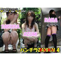 【パンチラざんまい 4】SAKURA / AZUMI / NANA