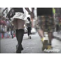 【無料サンプル】街撮美脚動画#129