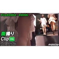 High Quality Street Clip of Japanese Girls #0064-#0066