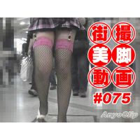 The beautiful leg of Japanese girl on the street #075