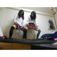 【県立�】1放課後の夏服コマコマネチネチ女子