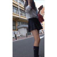 (動画セット★)オタ系制服むすめ追跡