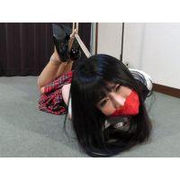 着衣拘束&猿轡フェチ動画 [IC3 監禁隷嬢 囚われの女学生 りの Part3]
