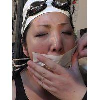 着衣拘束&猿轡フェチ動画 [YO3 監禁隷嬢 受難の競泳メダリスト Part3]