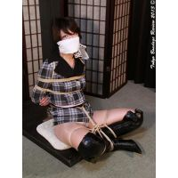 YO15 Japanese Secretary Yoko Bound and Gagged Part6