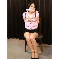 CK1 Cute Japanese Girl Chiaki Bound and Gagged First Time Part1