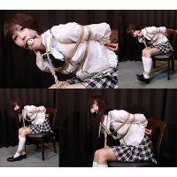 SF2 Japanese Schoolgirl Saya Captured and Bound Part2