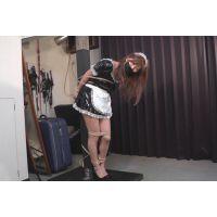 着衣拘束&猿轡フェチ動画 [NN10-11 緊縛隷嬢 受難のメイド 奈菜 フルバージョン]