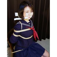 TK1 College Student Tomoka Bound and Gagged Part1