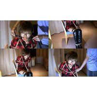着衣拘束&猿轡フェチ動画 [TA4 FirstTimeTied with Hemp Rope Part3]Asian Bonda