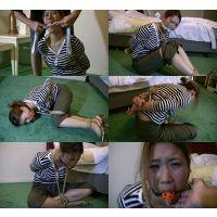着衣拘束&猿轡フェチ動画 [YK39-40 緊縛隷嬢 囚われた若妻の苦悶 フルバージョン]