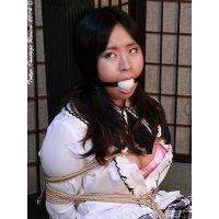着衣拘束&猿轡フェチ動画 [HR26 女子校生 遥 恥辱の緊縛課外授業 Part3]
