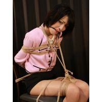CK2 Cute Japanese Girl Chiaki Bound and Gagged First Time Part2