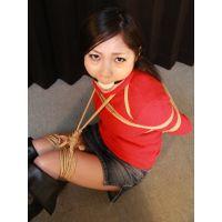 着衣拘束&猿轡フェチ動画 [RI3 監禁隷嬢 初めての緊縛猿轡 鈴木りん Part3]