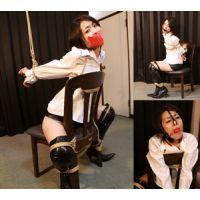 CK14-16 緊縛隷嬢 ロングブーツとレザーミニスカート 千明 フルバージョン
