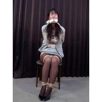着衣拘束&猿轡フェチ動画 [HR5 監禁隷嬢 新人OL 遥 涎と猿轡 Part1]