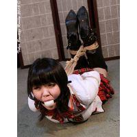着衣拘束&猿轡フェチ動画 [MN4 緊縛レッスン アイドル誘拐監禁 Part4]
