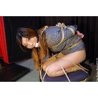 NN14 Japanese Secretary Nana Tied and Gagged Part3