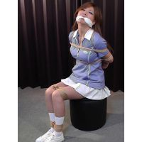 NN7 Nana Bound and Gagged in Tennis Outfits Part1