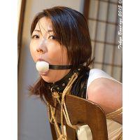 着衣拘束&猿轡フェチ動画 [AY11 美熟女緊縛 彩香 あなたのヨダレ高く買います ボーナスシーンA]