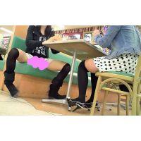 股のユル過ぎるミニスカニーソの美脚●C動画セット