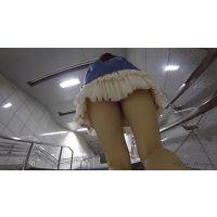 【HD】現役美少女 街撮りと称して、内緒でJKのパンチラ撮りました02