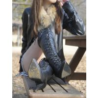 DirtyOne DL-M26 Boots girl Food crush