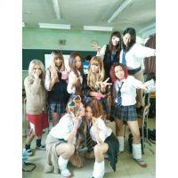≪校内チラギャル大集合≫