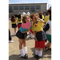 ≪校内のマイクロミニな女子高生≫