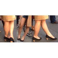 ロリ生脚パンプス3