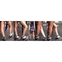 ロリ(まるでJC)生脚サンダル5(ロリ美脚を自慢げに見せつけています)