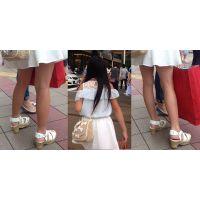ロリ生脚サンダル2