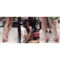 生脚サンダル12