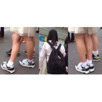 ロリ生脚スニーカー46