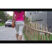《動画》中国美人の極上ヒップ