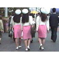 JD101♥ 女子大生アルバイトコンパニオンをローアングルから01 ♥
