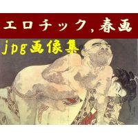 浮世絵 エロチック、春画、艶本 (全拡大画像:734個)