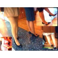 美しい脚線美と美尻のおねーさんからの美脚OLからの巨乳おねーさん