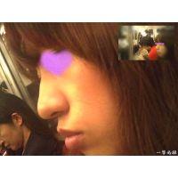 角席の女性にありえないほど近づいて撮ればキスした感覚になれる2