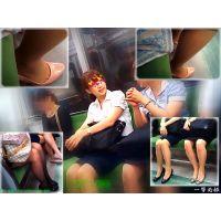 電車内で見かけた会社帰りOLのパンストシーンを眺めて癒されたい