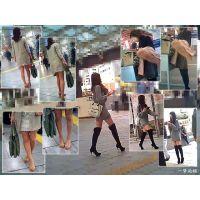 街で見かける細身で長身美脚なおねーさんたちを観察する