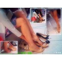 デパートの靴売場にはそれなりに美人や美脚のおねーさんがやってくる