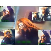 電車内で可愛い子を見つめ続けて自然体な表情を観察してみた