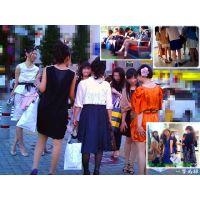 女の子が集団で集まっている瞬間に興奮するので追跡して観察しました