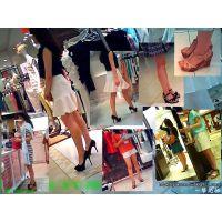 デパートのレディースファッションフロアを歩けば美脚が見放題!!