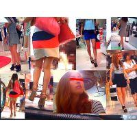 若者向けのファッションフロアを歩いて美脚をたくさん見て来ました
