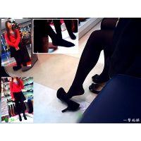 靴屋で可愛い店員と試し履きしている黒タイツのおねーさんを観察した