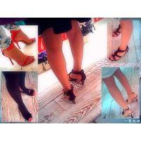 女性が集まる小物売り場に行けばおねーさんたちの足をゆっくり見放題